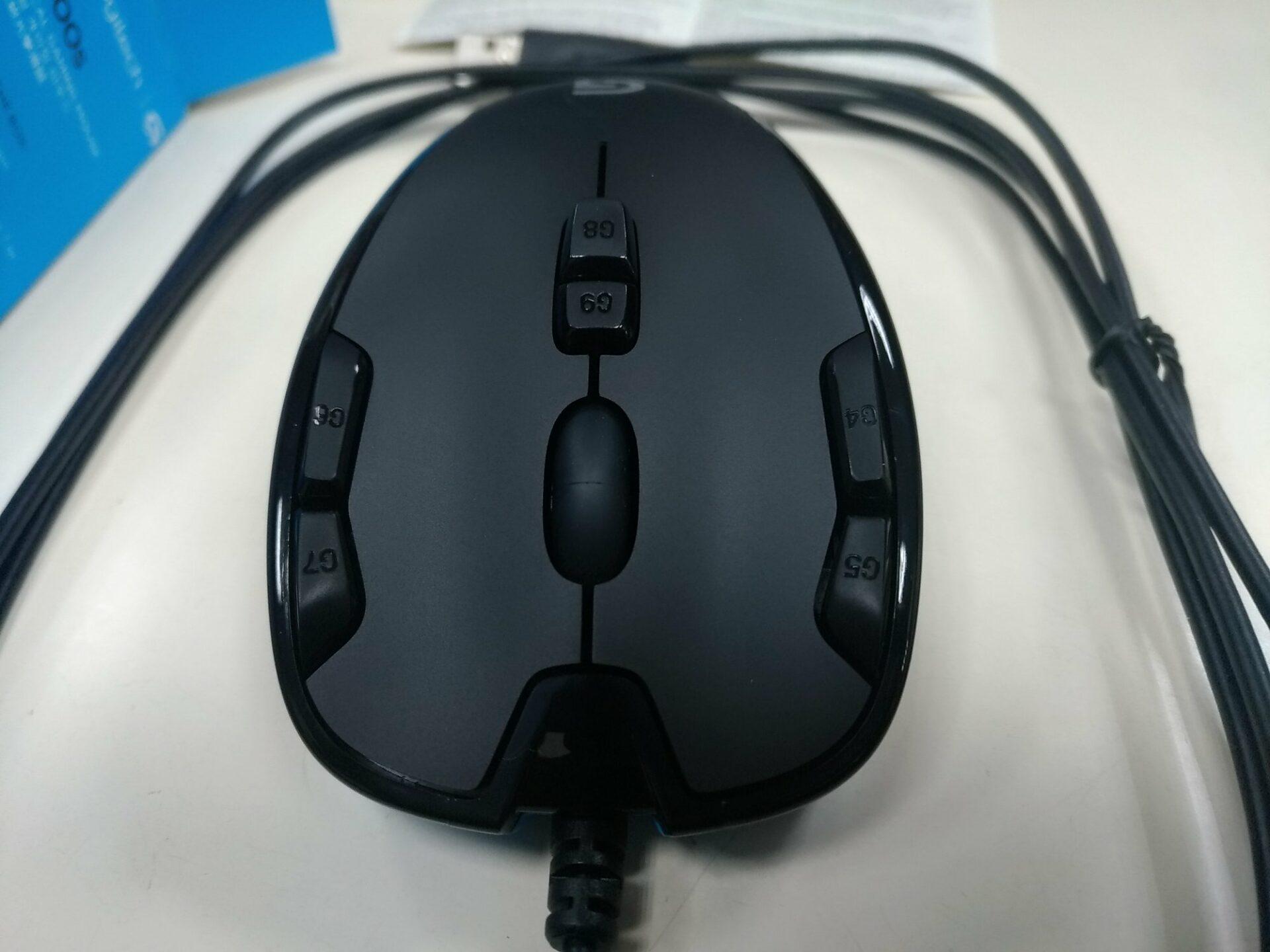 羅技滑鼠G300s開箱!支援5組自訂快捷鍵!