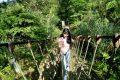 新北瑞芳景點】三貂嶺瀑布步道探險!合谷瀑布|繩索吊橋|枇杷洞瀑布|夜趕火車返家之旅